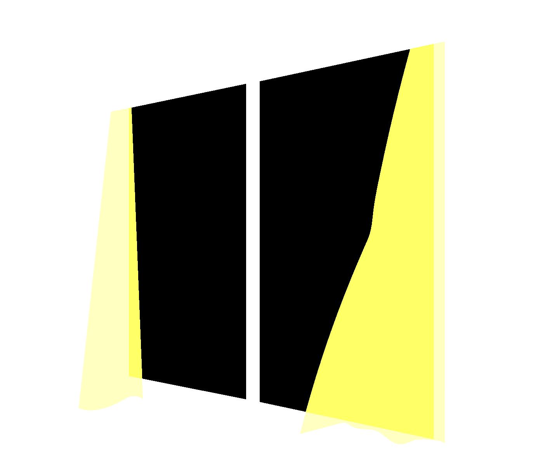 窓枠イラスト